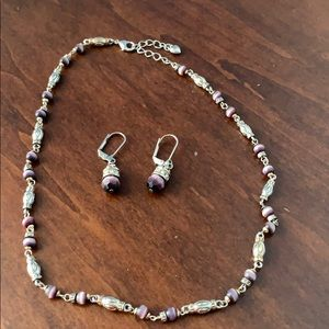 Francesca's necklace and earring set